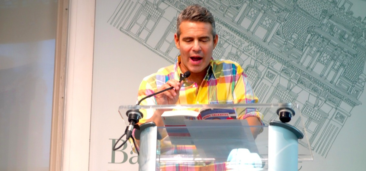Andy Cohen speaks at Barnes and Noble